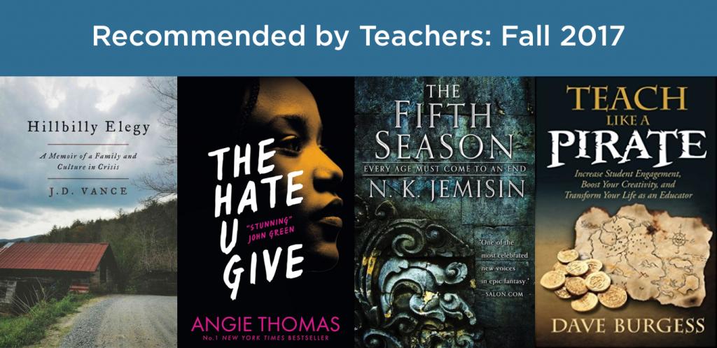 Books for teachers 2017